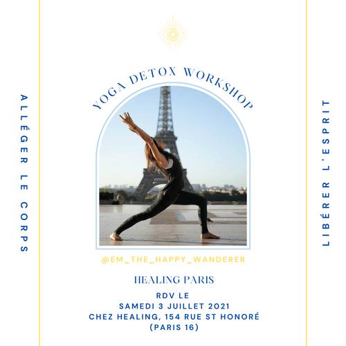 YOGA DETOX WORKSHOP @Healing / (Pré-réservation)