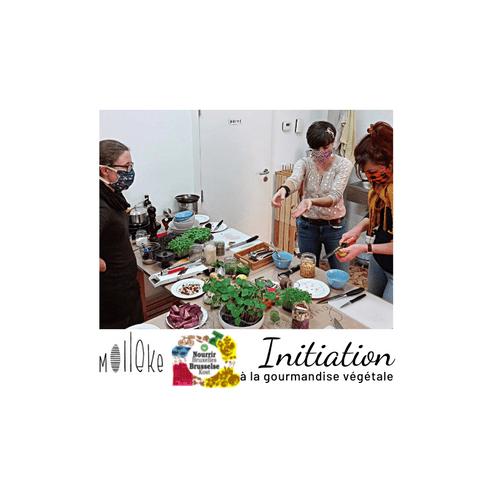 Initiation à la gourmandise végétale - Nourrir Bruxelles - 16/10/2021