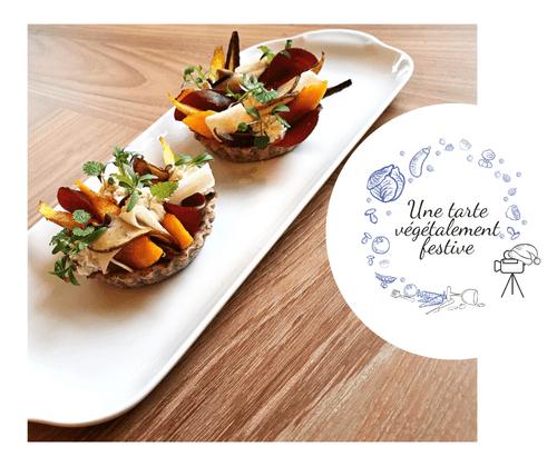 REPLAY - Une tarte végétalement festive à portée de main !