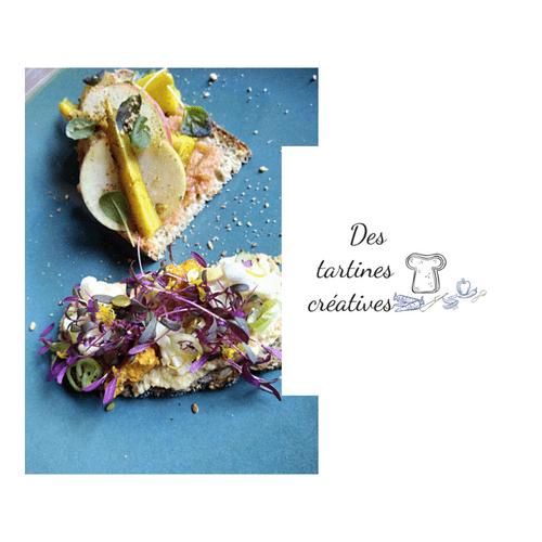 EN LIGNE - Atelier Des tartines créatives