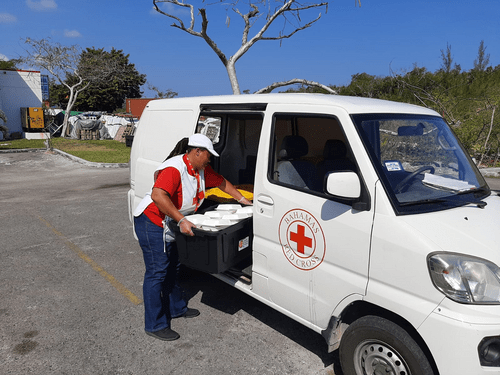 NASSAU- Red Cross