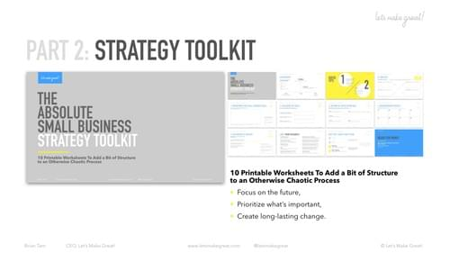 Strategy + Insight Guide (2-for-1 Bundle)
