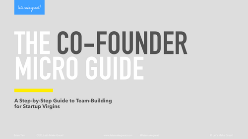 The Co-Founder Micro Guide