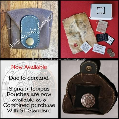 Signum Tempus Standard UPDATE - w/ Custom Leather Pouch (Very Limited Stock)