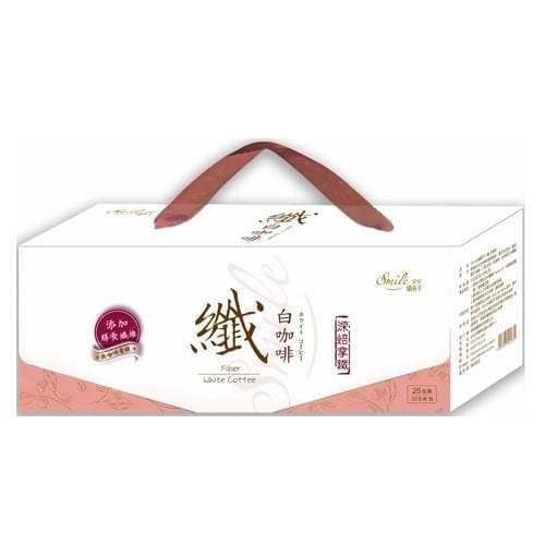 纖の白咖啡禮盒(22gx25入)