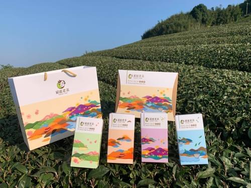 阿里山高山茶秋茶4兩/盒