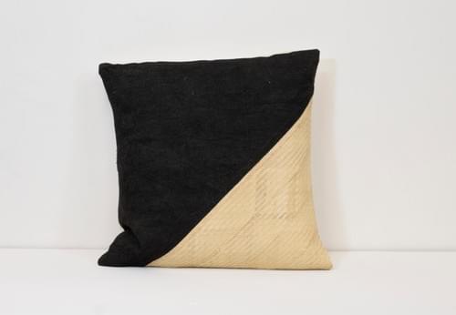 No.9 - Biri Biri Palm, Handwoven Cotton and Clay-Dyed barkcloth