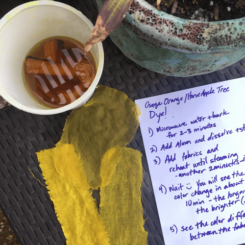 Osage Orange Natural Dye Kit
