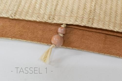 Tassel Clutch, Natural, Edition of 3