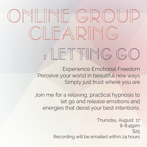Online Group Clearing - SOLD OUT!! Coming again next month!!
