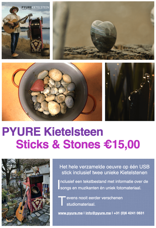 PYURE Sticks & Stones
