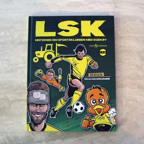 Historien om sportsklubben med egen by| Ny bok + stickers