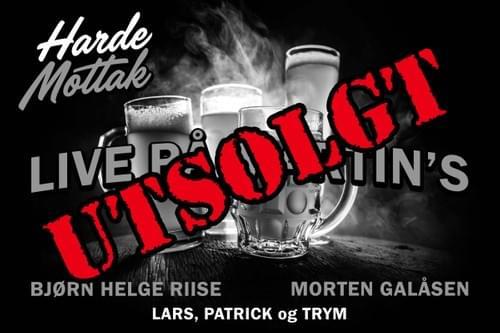 Harde Mottak Live på Martin's   10.11.19