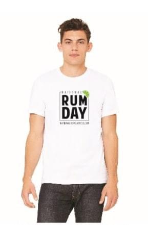 Official National Rum Day Fest T-shit