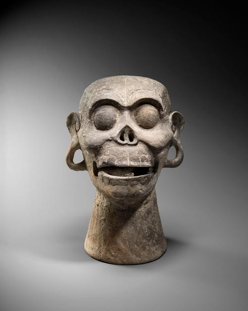 Mixtèque - Sifflet crane de singe