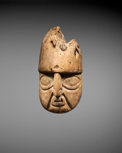 Huari - Masque représentant un visage humain