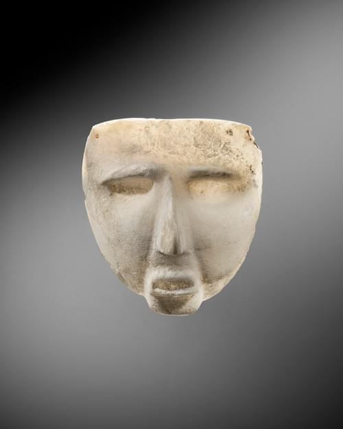 Sultepec - Masque représentant un visage humain