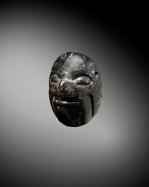 Maya - Pendentif représentant un visage humain