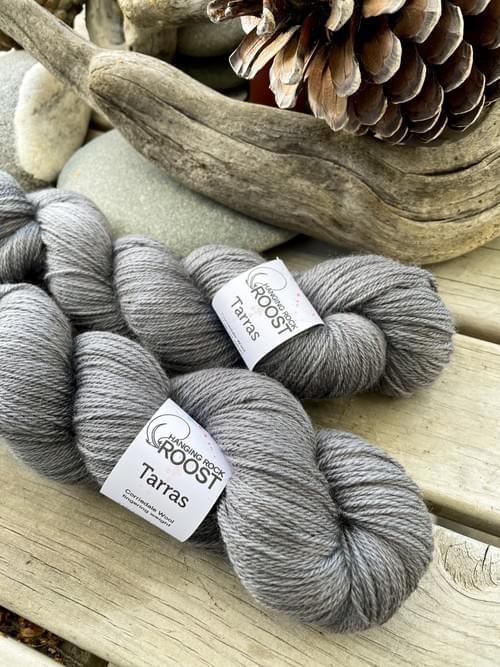 Tarras Yarn – Tephra Colourway
