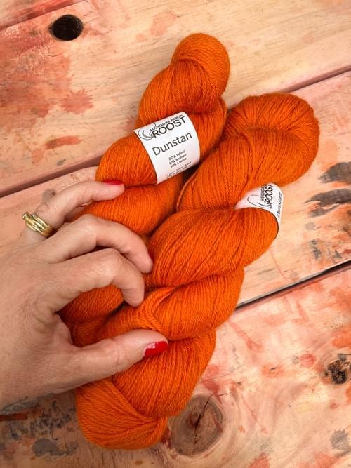 Dunstan Yarn – Dune Buggy Colourway