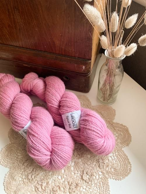 Spur Rd Yarn – Pink Smoker Colourway