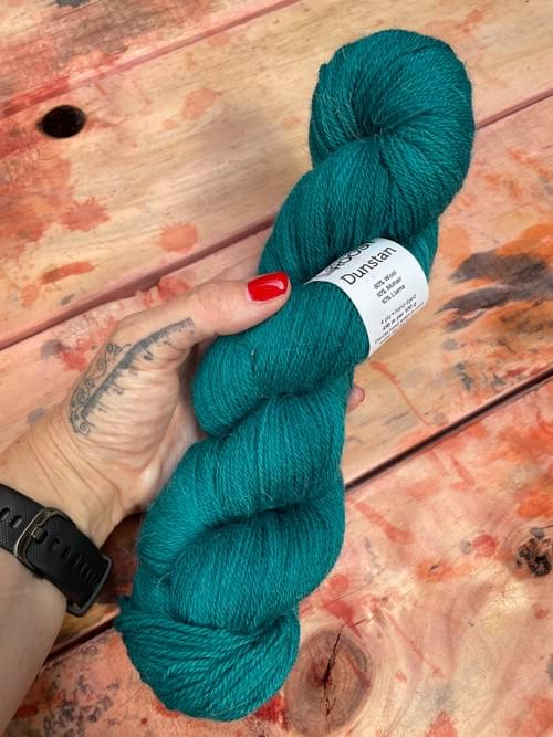 Dunstan Yarn – Full Tide Colourway