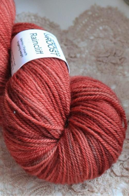 Raincliff Yarn – OOAK Colourway (Rusty Oranges)