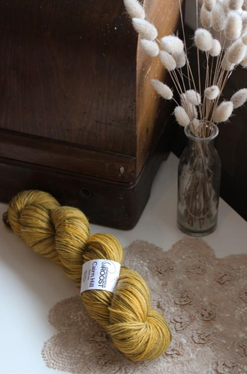 Cairn Hill Sock Yarn – Beetlejuice Colourway