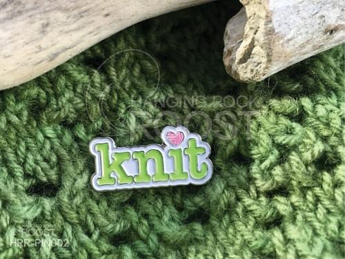 """Knit"" Enamel Pin"