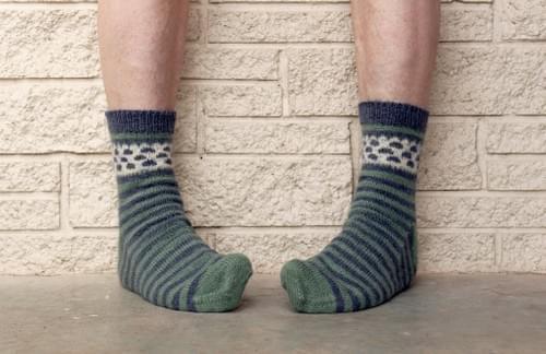 Moeraki Boulders Socks Pattern