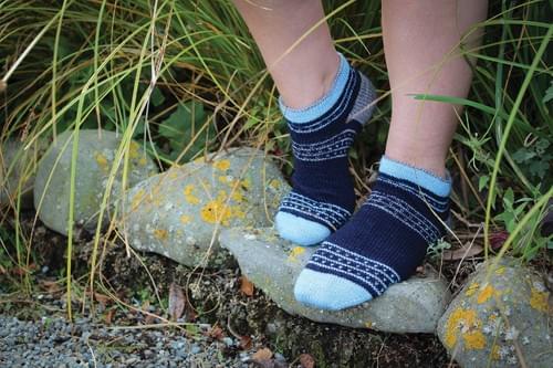 Danseys Pass Socks PRINT Pattern