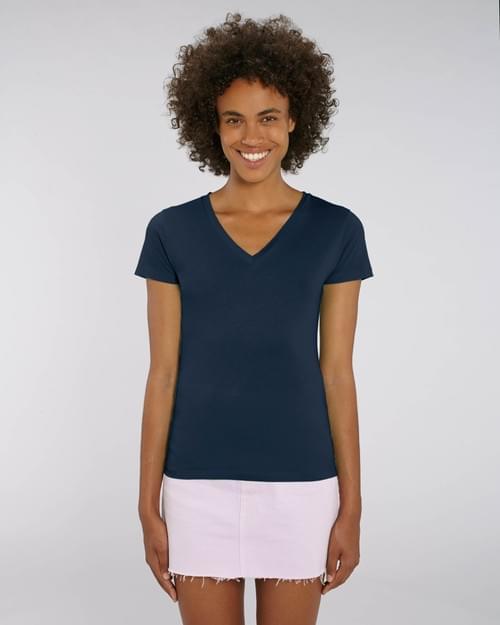 Tshirt femme col-v personnalisé
