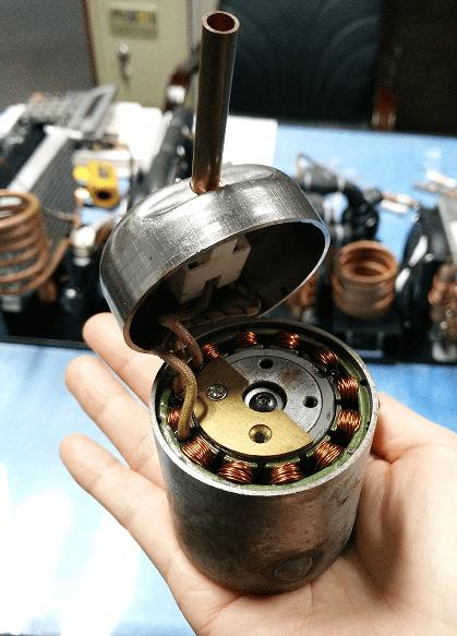 RIGIDHVAC Miniature Variable Speed Compressor QX1901VDL (12V)