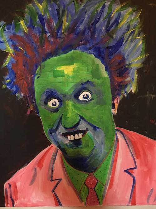 Original art by Andy Winters Sir Ken Dodd (cards also available £2.50) Giclee Prints prices from: