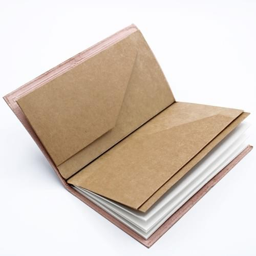 Leather Journals blank pages with wallets