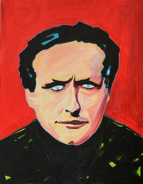 Houdini  - Original Art by Andy Winters A3 signed Giclee prints