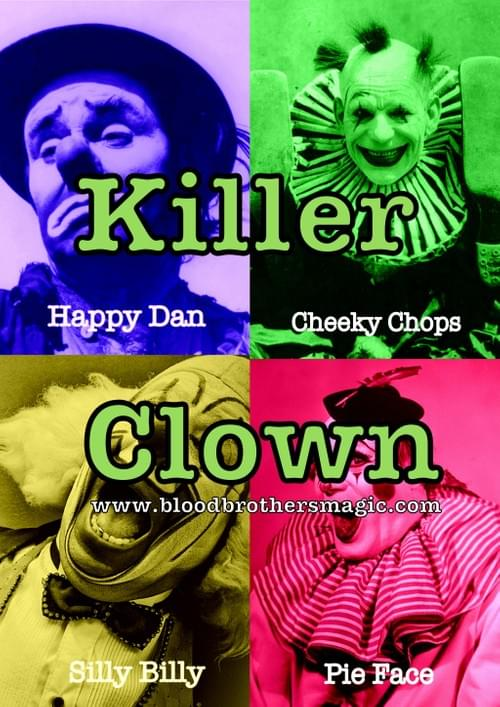 Stage version of Killer Clown