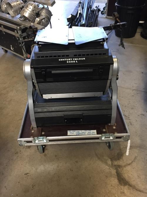Century 2500 PR Lighting