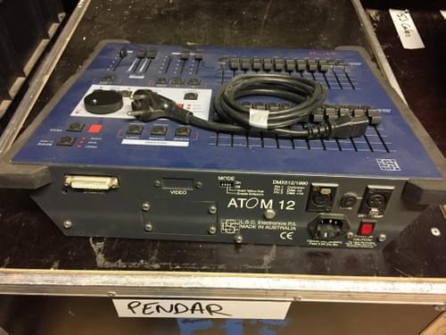 LSC Atom 12 console DMX