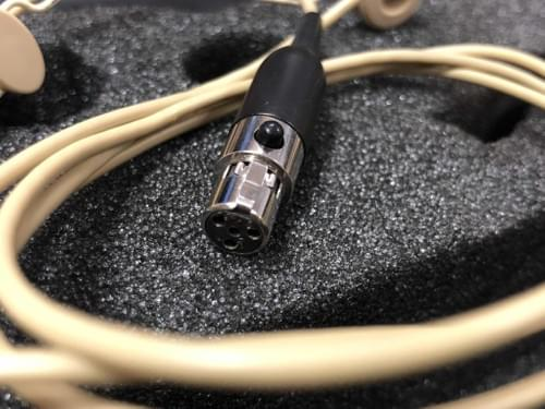 Micro serre tête SHURE supercardio WBH54 vers ta4f