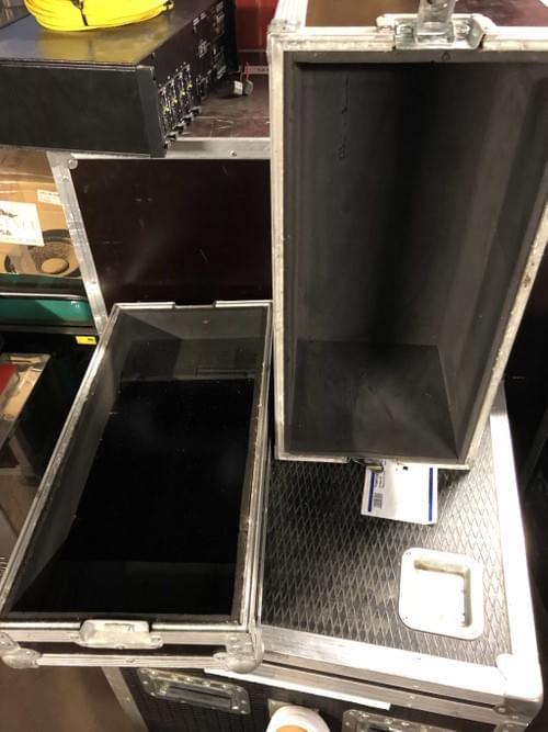 Flight case cloche