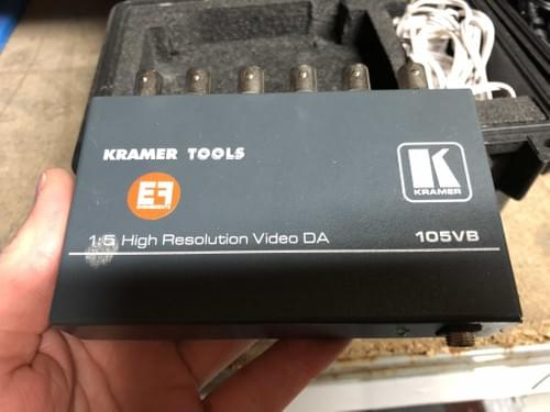 Distributeur composite KRAMER 5 sorties