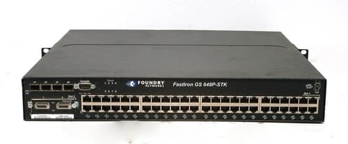 Switch Réseau Brocade FastIron GS 648P - switch - managed - 48 ports