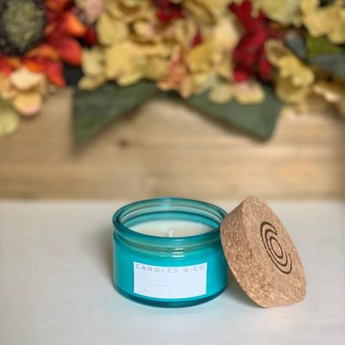 Caribbean Teakwood - 4oz Soy Candle