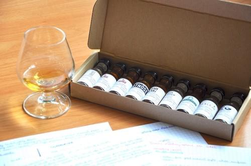 Niveau 1 Spiritueux - Kit de dégustation de 9 Vinottes