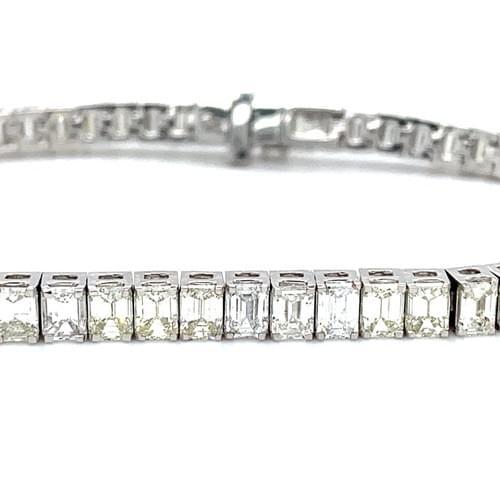 Emerald Eternity Bracelet