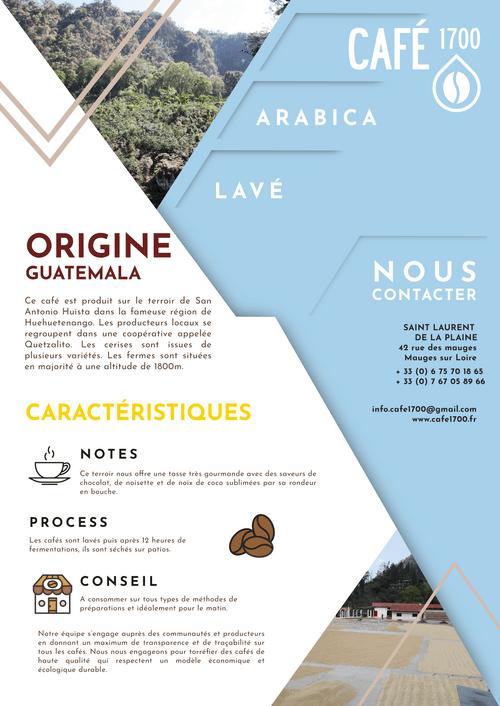 Le Guatémaltèque - Huehuetenango - San Antonio Huista