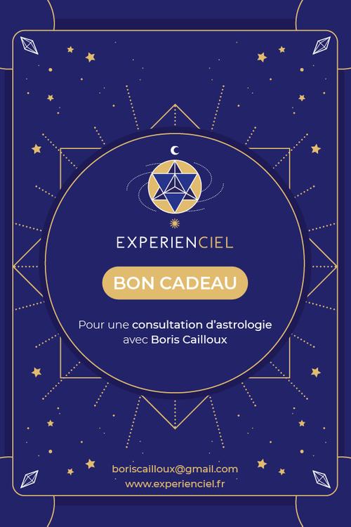 Bon-cadeau : séance d'astrologie