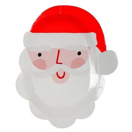 Vaisselle jetable Père Noël