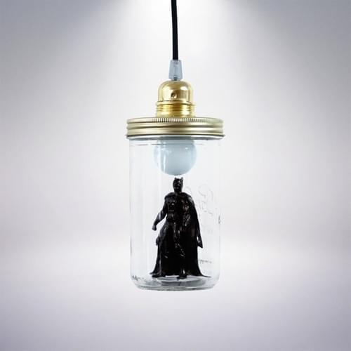 Lampe à poser Batman - La tête dans le bocal